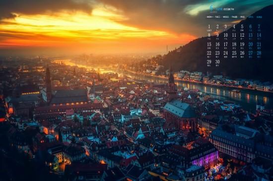 2020年6月唯美绚丽城市