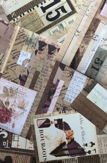 怀旧复古欧美风拼接手机壁纸