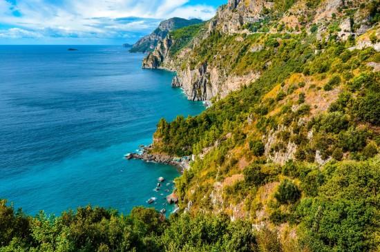 意大利阿馬爾菲海岸風景
