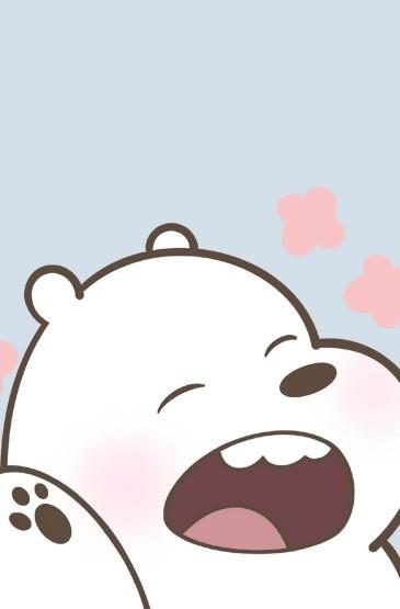 咱们裸熊可爱卡通图片手机壁纸