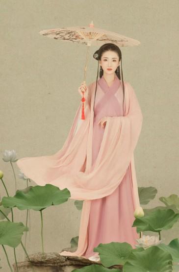 许芳铱古风汉服写真图片