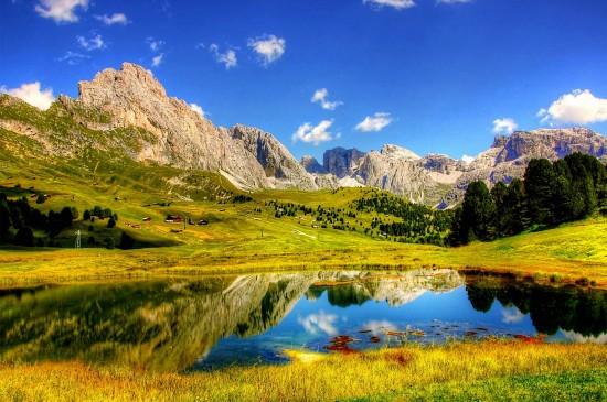 精选唯美壮观的山川风景桌面壁纸
