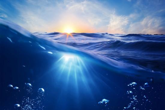 <唯美海和浪风景高清桌面壁纸