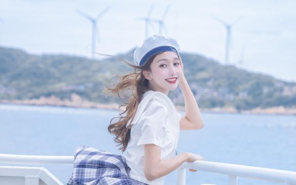 <jk制服少女清纯诱惑海上福利写真
