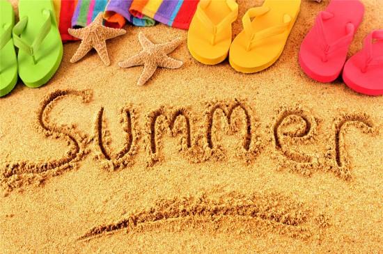 <夏日沙滩风格高清桌面壁纸