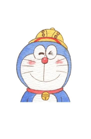 <哆啦A梦卡通手绘高清手机壁纸