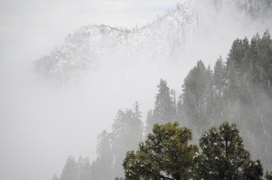 云雾缭绕唯美仙境桌面壁纸