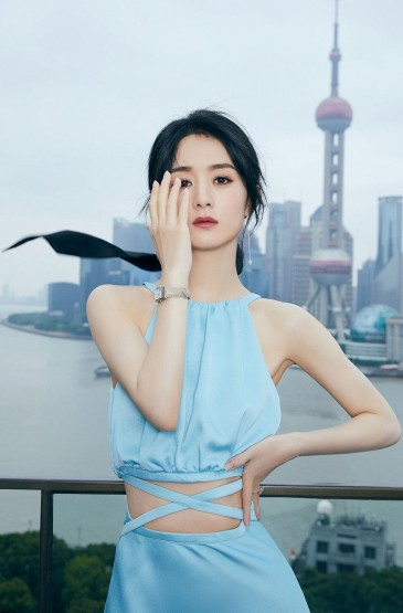 赵丽颖露腰裙性感高清手机壁纸