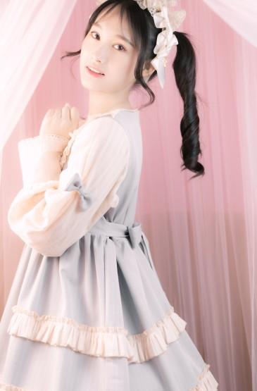 双马尾萝莉美女女仆装诱人写真图片