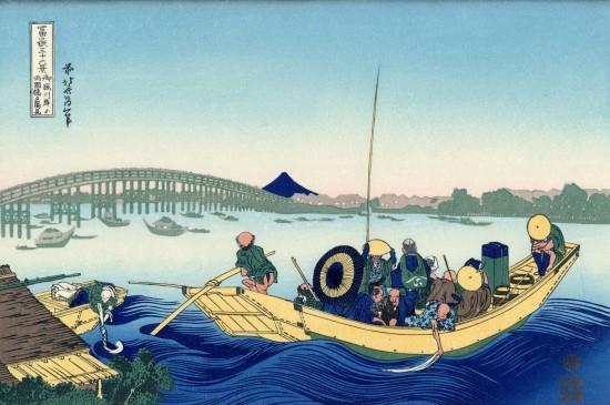 富岳三十六景浮世绘桌面壁纸  第四辑