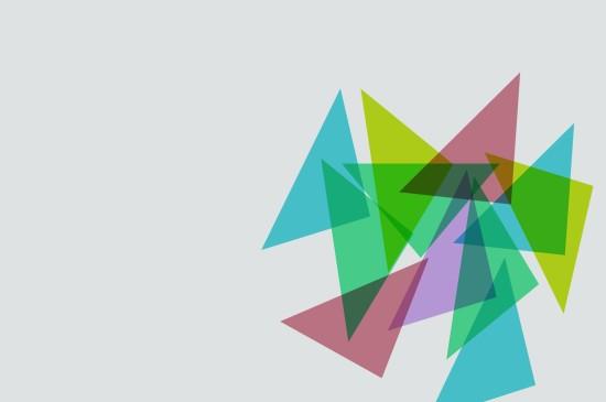 几何图案设计创意桌面壁纸