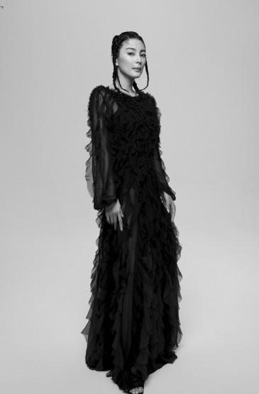 张雨绮摩登时尚写真图片