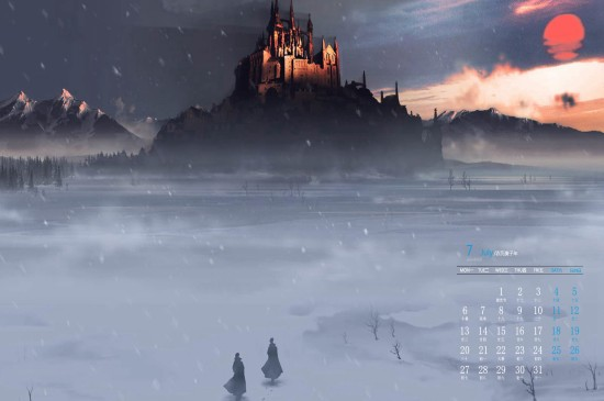 2020年7月奇幻动漫风景