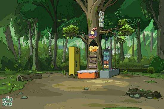 小溪仔克雷格动漫风景桌面壁纸  第二辑