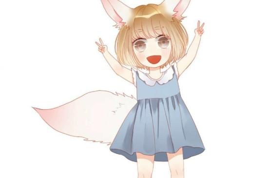 <二次元萌系萝莉卡通美少女安卓平板壁纸