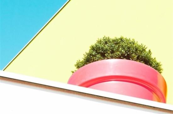 撞色系列建筑色彩iPad平板壁纸