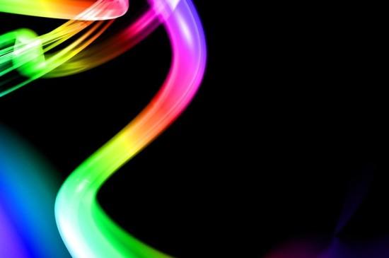 炫彩光影紋理ipad壁紙下載