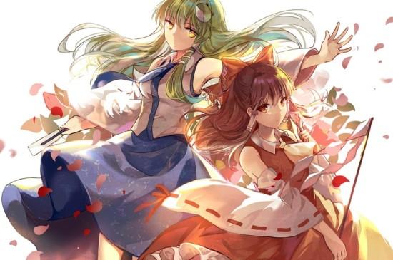 《东方Project》动漫美女安卓平板壁纸