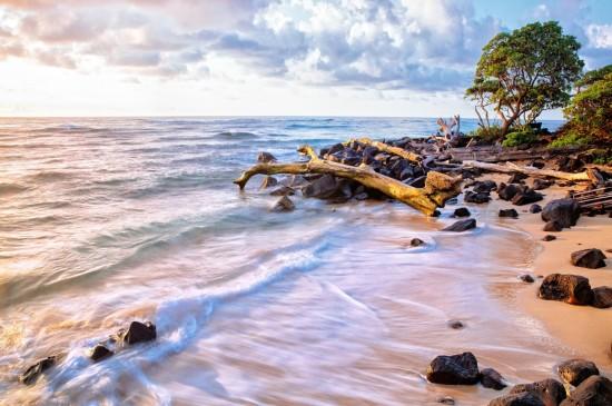 绝美大瀑布唯美自然风光桌面壁纸