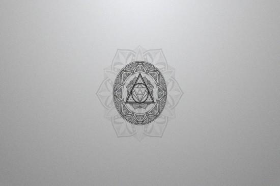 艺术创意多边形设计桌面壁纸下载