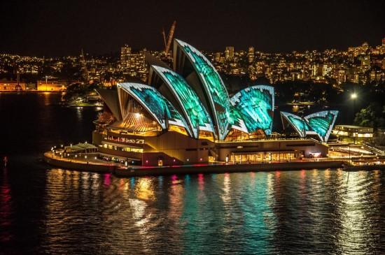 澳大利亚悉尼歌剧院桌面壁纸