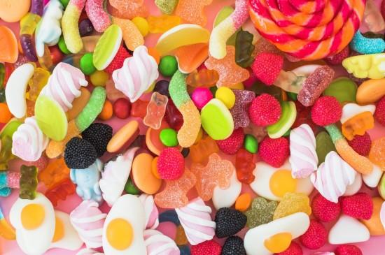 五彩缤纷的糖果桌面壁纸