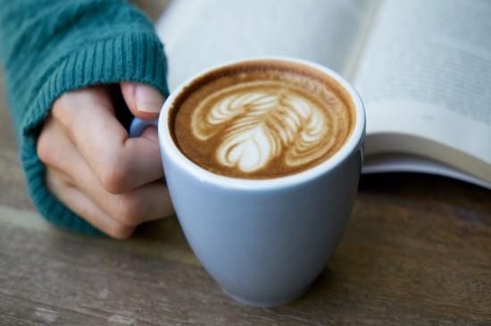 精致好看的咖啡拉花桌面
