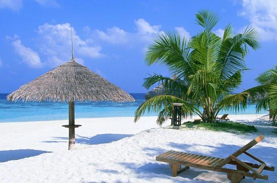 靚麗海島風景大海圖片