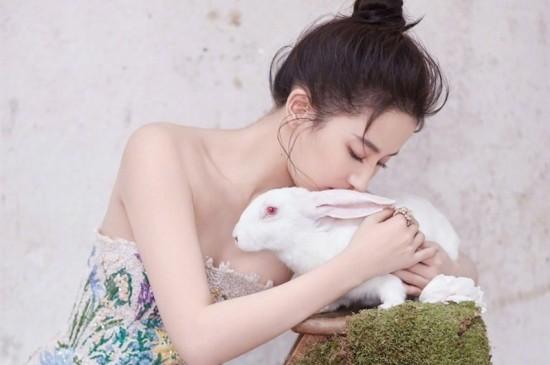 女神刘亦菲仙气十足写真平板壁纸大图