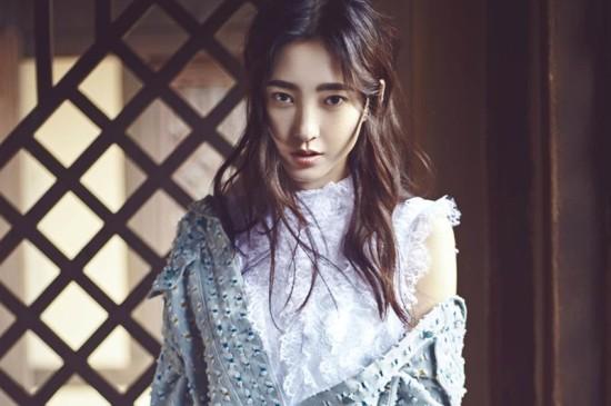 气质美女王丽坤初夏写真ipad壁纸图片