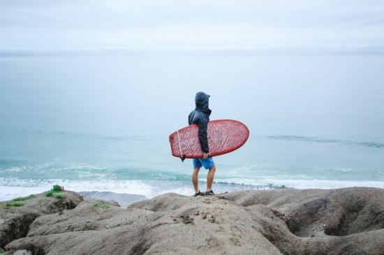 <唯美海边冲浪极限运动图片