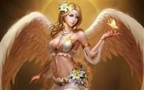 奇幻天使之翼高清壁纸图片