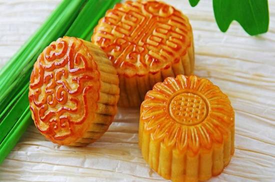 中秋节美食甜品小吃月饼图片