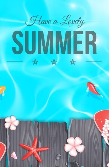 <个性夏天美食手机壁纸图片下载