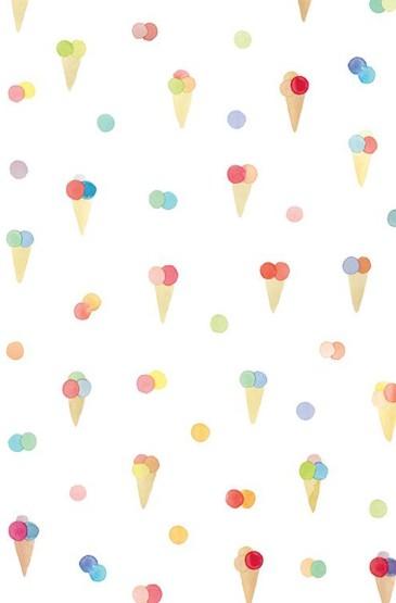 <夏日小清新冰淇淋手机壁纸