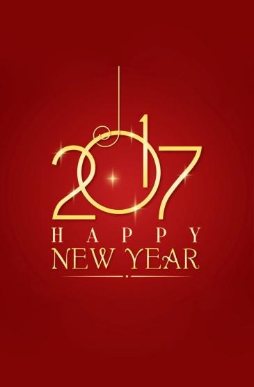<创意设计2017新年手机壁纸大全