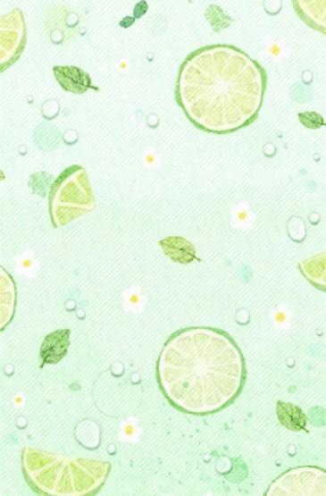 夏日小清新平铺手机壁纸