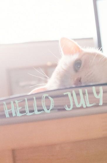 你好七月系列高清手机壁