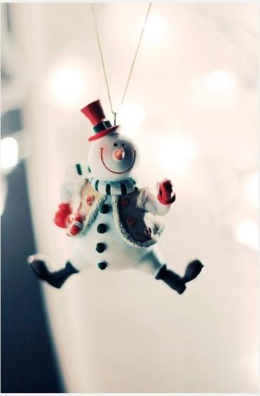 雪人可爱静物摄影安卓壁