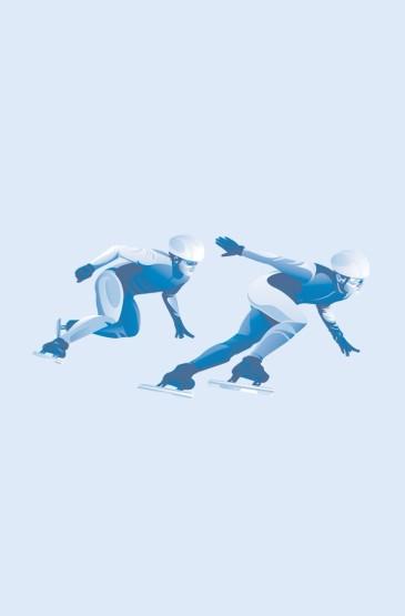 为冬奥运加油主题手机壁