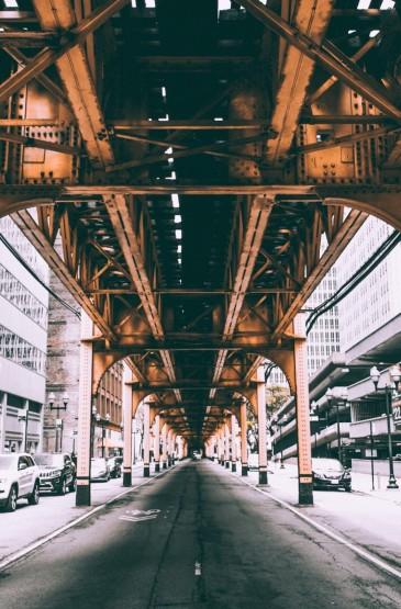 芝加哥城市风光手机壁纸