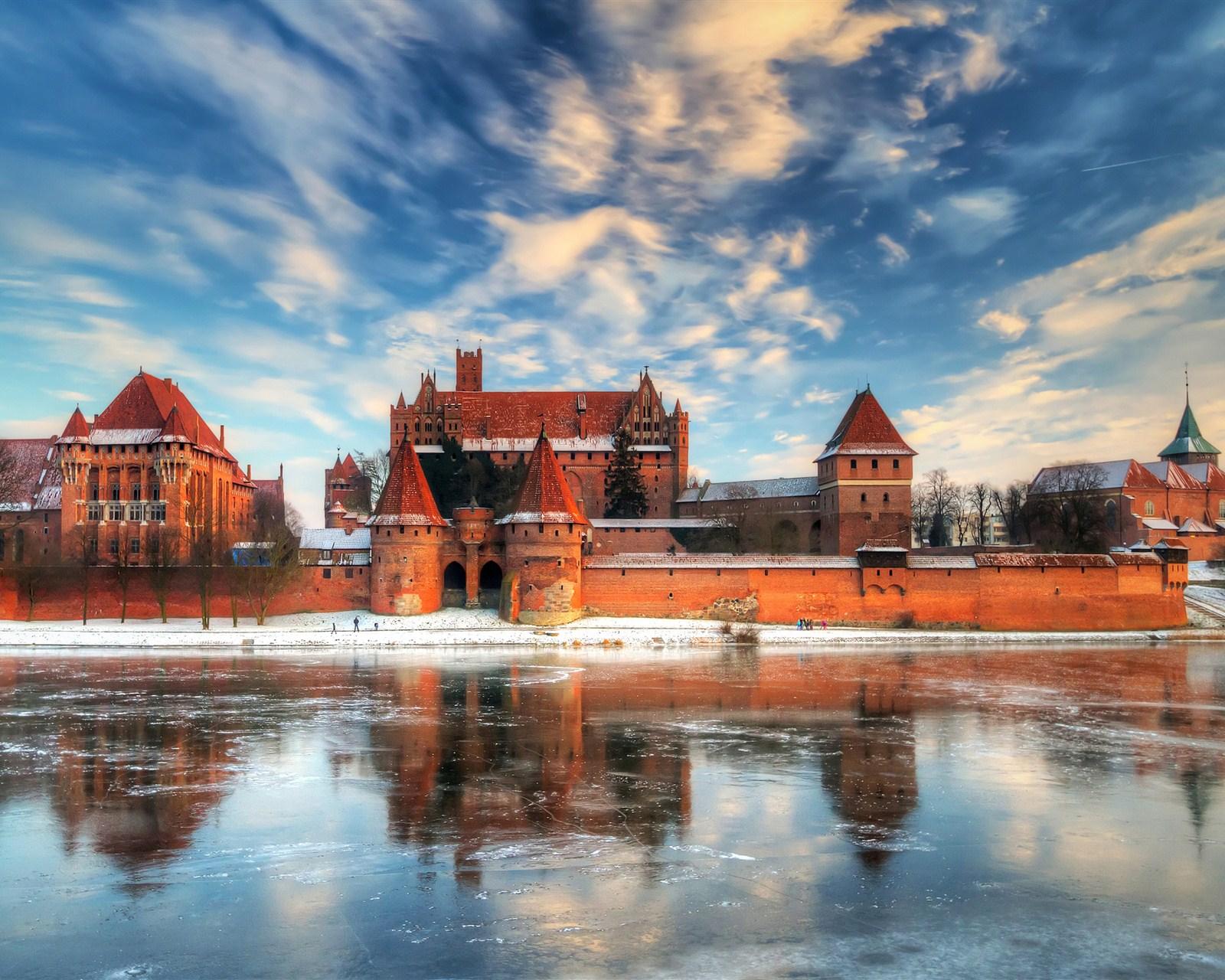 唯美欧式城堡图片