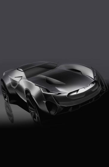 <酷炫概念超級跑車圖片壁紙下載
