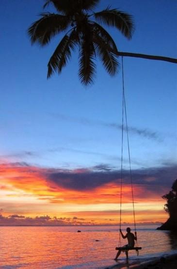 绝美斐济风光高清手机壁纸