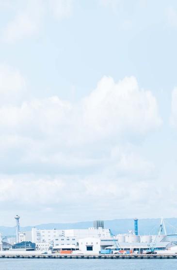 蓝色小清新自然风光手机壁纸下载