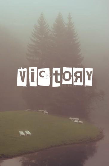 灰色城市雾霾朦胧风景文字手机壁纸