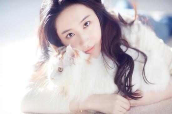 刘亦菲清纯唯美写真图片