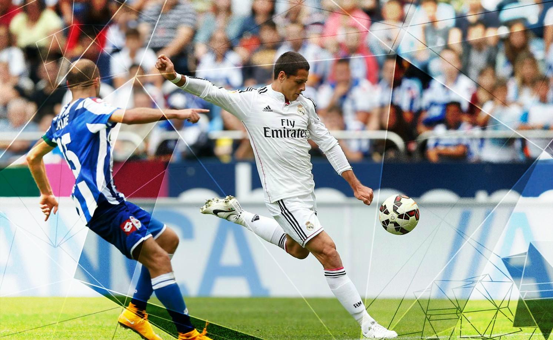 西甲皇家馬德里體育足球圖片
