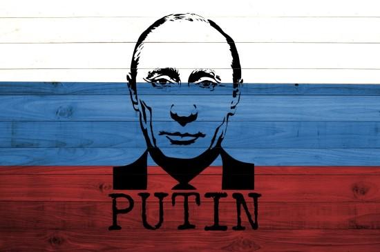 俄罗斯总统普京个性插画
