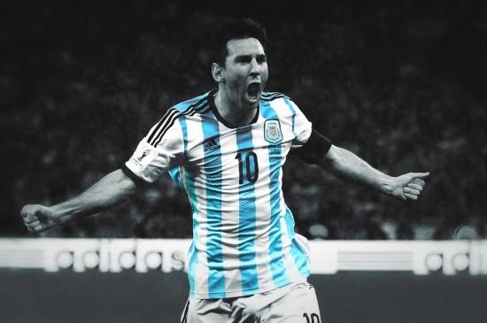 阿根廷球员梅西图片